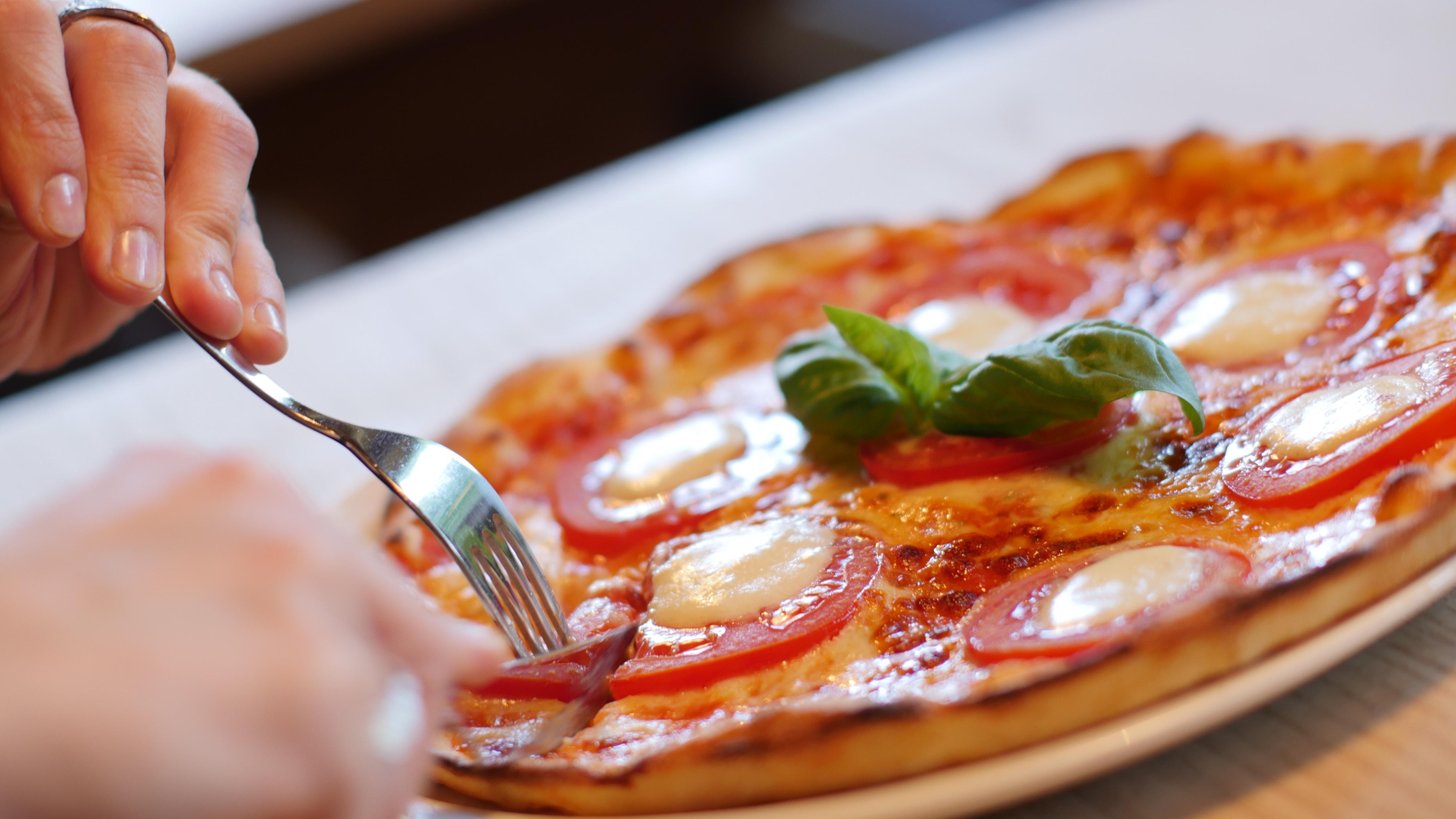 ingredientes para una pizza